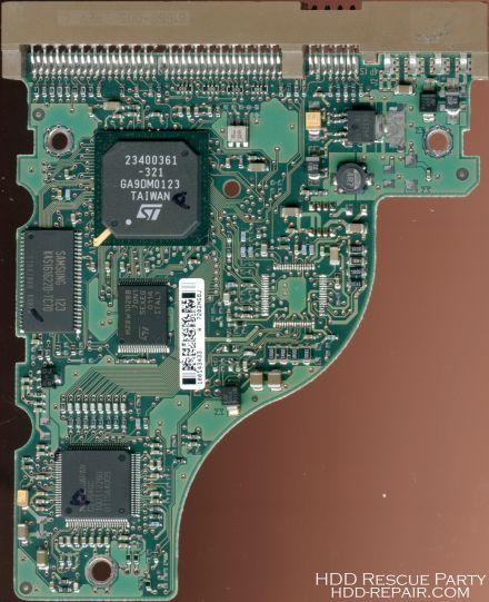 SEAGATE U10 100143433 PATA electronic circuit board