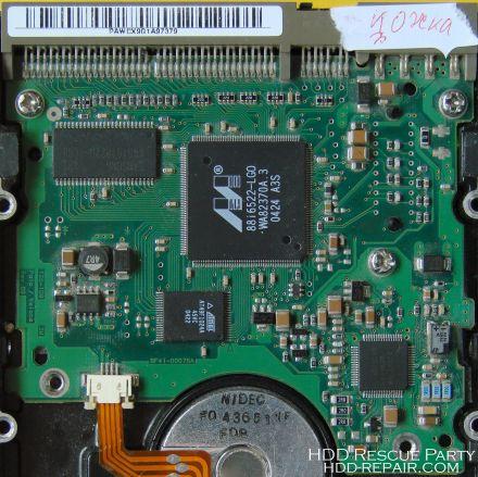 SAMSUNG P80 PALO REV09 PATA electronic circuit board