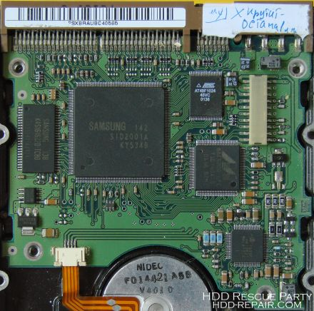 SAMSUNG V40 VICTOR REV04 PATA electronic circuit board