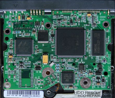 WESTERN DIGITAL WDXXXX RAPTOR PATA electronic circuit board