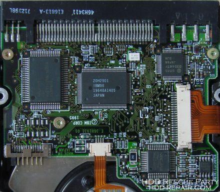 IBM DAQA PATA electronic circuit board