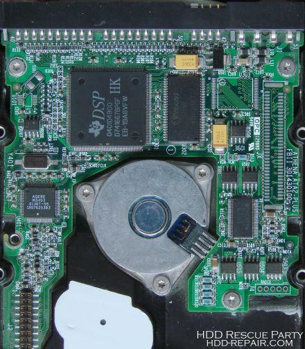 MAXTOR D541X ATHENA PATA electronic circuit board