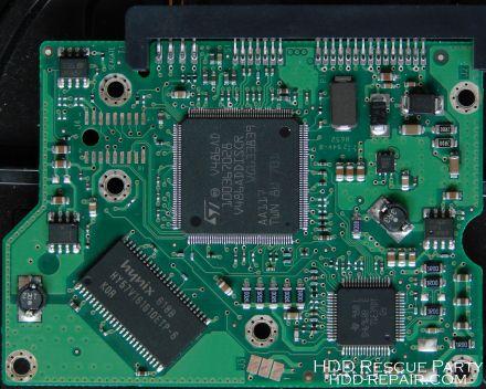 MAXTOR DIAMONDMAX-20 7200.9 100457857 SATA electronic circuit board