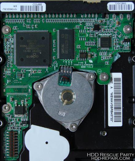 MAXTOR DIAMONDMAX-8 N40P B8FED PATA electronic circuit board