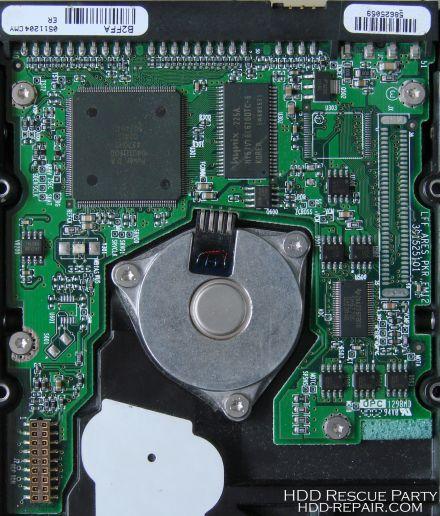 MAXTOR FIREBALL-3 ARES-64K B2FFA PATA electronic circuit board