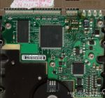 SEAGATE BARRACUDA 7200.7 100282774 PATA electronic circuit board