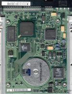 SEAGATE BARRACUDA II, PATA electronic circuit board