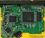 WESTERN DIGITAL WDXXXXBB-00GUA0 001266 PATA electronic circuit board