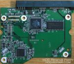 WESTERN DIGITAL WDXXXXEACS-00ZJBO SATA electronic circuit board